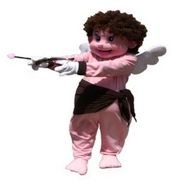 Wholesale Adult Cupid - Angel Cupid Mascot Costumes Cartoon Character Adult Sz 100% Real Picture