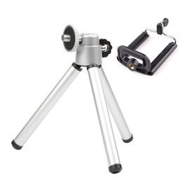 Wholesale Wholesale Camera Stands - Portable Mini Tripod Stand For Phone Xiaoyi 4K SJCAM Digital Camera Camcorder With Phone Holder factory direct wholesale
