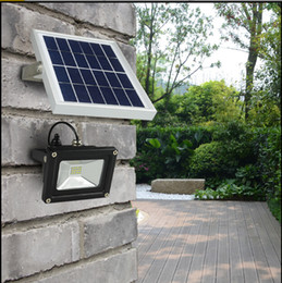 Wholesale Flood Homes - Solar Powered Floodlight  Spotlight Outdoor Waterproof Security Led flood light Lamp 12 led 3watt Lamp Home Garden Lawn Pool YK-S51