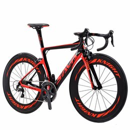 Wholesale Road Bike Carbon Ultegra - SAVA 700C Road Bike T800 Carbon Fiber Frame Cycling Bicycle SHIMAN0 Ultegra 6800 22 Speeds professional Bicicleta 88MM Wheelset and 25C Tire