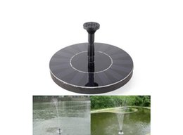 Wholesale Solar Panel Water Fountain - Mini Solar Power Fountain Pool Water Pump Brushless Energy-saving Plants Watering Kit with Solar Panel for Bird Bath Garden Pond
