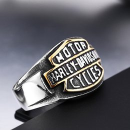 Wholesale Rings Mens - Euro American Motorcycle Rings Wholesale Mens Mens Harley rings Davidson jewelry
