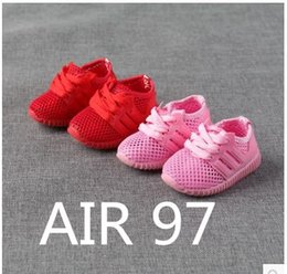 Wholesale Walker Leather Shoe - Lucus's store Max 97 x Underfeat TRUE TO SIZE baby shoe baby first walkers all colorways any two pairs free dhl double box