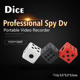 Wholesale Portable Spy Cameras - HD Night Led Portable Mini Handheld hidden spy mini dv dice Compact Indoor Outdoor video invisiable camera with Infrared Night vision