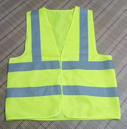 Wholesale Traffic Warning Lights - 2017 Worker Clean Sanitation Road Traffic Reflective Warning Vest High Light Reflective Safety Vests Customized Printing Logo Words
