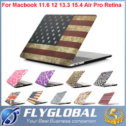 Wholesale 15 Inch Netbook - Macbook Laptop Netbook Frosted Matt Rubberized Front + Back Hard PC Case Cover for 11.6 Air 12 13 13.3 15.4 Pro Retina