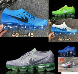 Wholesale Max Vapors - 2017 High Quality Arrival VaporMaxes Mens Shock Racer Casual Shoes For Top quality Fashion Casual Vapor Maxes breathable Sneake