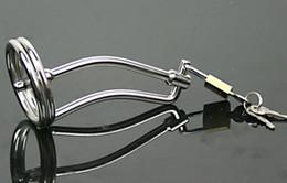 tubo de uretra de castidade Desconto Aço inoxidável Masculino Bondage Uretra Aço inoxidável TUBE Castidade Masculino Aço Inoxidável Bondage Cateter Tubo Anel Peniano Uretral Soando