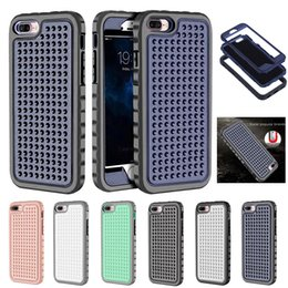 Wholesale Apple Rugged Protection - Full Body Coverage Case for Apple iphone 6 6S 7 Plus Protection Hard Slim Ultra-thin Hybrid Heavy Duty Rugged Tough Hard Cover