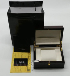 Wholesale Luxury Ladies Watch Box - Luxury Men Fashion Women Ladies Wristwatch Boxes Swiss Brand Men Watch Box and Paper For Rado Watches