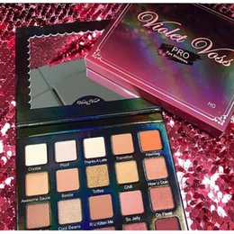Wholesale Collections Etc Wholesale - New Violet Voss PRO Cosmetics Eyeshadow Collection Limited Holy Grail Eyeshadow Palette 20 Colors Icluding Crystal & Ploof & How U Doin etc
