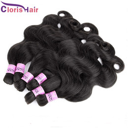 Wholesale Wavy Bulk Hair - Soft Body Wave Brazilian Human Hair Bulk For Extensions Cheap Wet and Wavy Extension in Bulk No Attachment No Cuticles