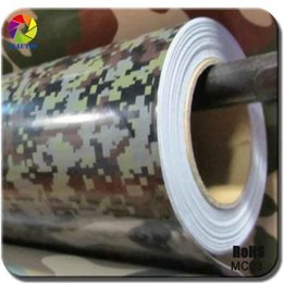 Wholesale Car Vinyl Wrap Camouflage - cnHGarts Digital Camouflage Car Wrap Vinyl camo digital car wraps for Car Stickers