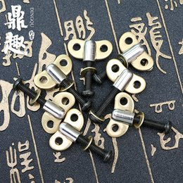 Wholesale Tattoo Tap - 1 Pc lot Machine Hand Screw Thread Taps Set Fit Set Fit Tattoo Machine Tattoo Accessories TG5505