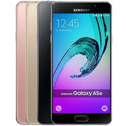 Wholesale Smart Phone 13mp 4g - Refurbished Original Samsung Galaxy A5 A5100 2016 Dual SIM 5.2 inch Octa Core 2GB RAM 16GB ROM 13MP Camera 4G LTE Smart Phone DHL 1pcs