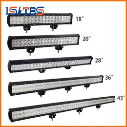 Wholesale Led Driving Lights For Cars - 108W 126W 180W 234W 288W LED Work Light Bar for Indicators Driving Offroad Boat Car Tractor Truck 4x4 SUV ATV