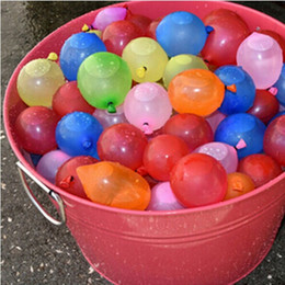 Wholesale Sand Beach Toy Set - 111pcs set Water Balloons Water Bombs Colorful For Children Party Hot Summer Sands Beach Swimming Pool Small Balloon
