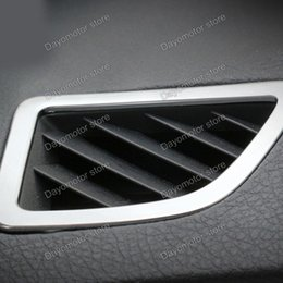 Wholesale Air Vents Covers - Car Styling ABS Dashboard Air Vent Cover Decoration Trim Accessories For MW 3 4 Series F30 F31 F32 F34 GT 320 328 chrome Stick