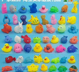Wholesale Inflatable Rubber Duck - kid toys Baby Bath Toys Water Floating Dolls Animal Cartoon Yellow Ducks Starfish Children Swiming Beach Rubber Toy Kids Gifts free shipping