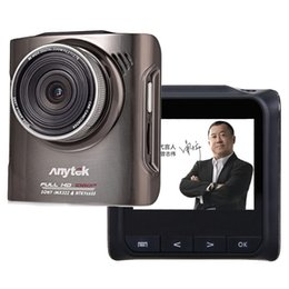 Wholesale Dash Cams Gps - 100% Original Anytek A3 Car DVRs Novatek 96655 Car Camera With Sony IMX322 CMOS Super Night Vision Dash Cam Car DVR Black Box