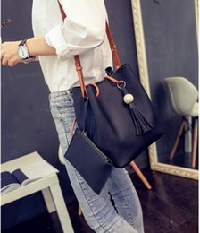 2017 nouveau sac à main seau deux perle en bois sac mère cap gland mode coréenne sac portable ? partir de fabricateur