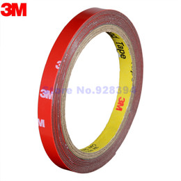 Wholesale Foam Tape Single Sided - Wholesale- 2016 3M Tape 10mm Double Sided Sticker Acrylic Foam Adhesive Car Exterior Tape 1 Roll