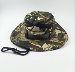 Wholesale Jungle Digital Camouflage - Camouflage Black ACU Jungle Digital Boonie Hats Tactical Airsoft Sniper Nepalese Cap Militares Army Mens Military Hiking Sun Hat