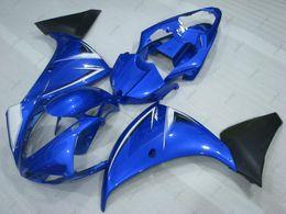 Argentina Carenado plástico para YAMAHA YZFR1 2009 Kits de carenado YZF1000 R1 10 11 Azul Negro Carrocería YZF R1 2010 2009 - 2011 cheap r1 plastics kit Suministro