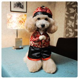 Wholesale Chinese Winter Clothes - Creactive Pets Costumes Dog Clothes Pet Supplies Dogs Vertical Standing Cute Look Clothing Plenty Roles Ancient Chinese Styles 4 Sizes #1