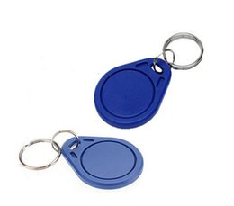 Wholesale Quality Entry Doors - Factory price make High Quality EM4100 125khz 100pcs lot ISO11785 ABS RFID Business Key Tags Door Entry Fob