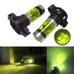 Wholesale Golden Beam - 100w H11 H8 h9 2835 20SMD High Power Super100w H16 5202 2835 20 Bright 4300K Golden White Light Car Fog Light Day Running Light high quality