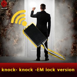 Wholesale Real Props - Takagism game prop Knock puzzle knock at the door in right rythme to escape the chamber room real life room escape game device jxkj1987
