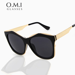 Wholesale Trendy Shades - Hot Trendy Superstar Sunglasses 2017 Men Women Transparent Frame Grey Lens Shades New Arrival Glasses Brand Designer OM95