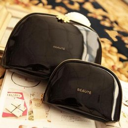 Wholesale Elegant Clutches - 3pcs lot C fashion sowflake zipper elegant famous beauty cosmetic case luxury makeup organizer bag designer toiletry clutch bag VIP gift