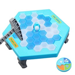 Wholesale Trapping Sales - Wholesale- Hot Sale Penguin Trap Ice breaker Game Save Penguin on Ice Block Family Game Early Educational Toys Funny Party Game