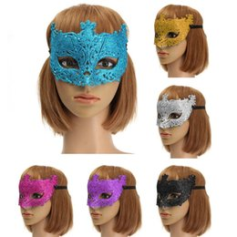 Wholesale Venetian Mask Costume Masquerade Red - Colorful Venetian Glitter Mask Masquerade Costume Ball Mask Party Supplies