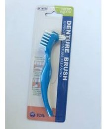 Wholesale Dual Clean Brush Heads - New Arrival Denture Dedicated Brush Toothbrush Dual Brush Heads Gum Cleaner Fit for Men and Women