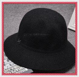 Wholesale Gangster Tie - New Arrive Unisex Trilby Gangster Cap Summer Beach Sun Straw Panama Hats Men Women Stingy Brim Caps 20 Colors Choose wholesale fu