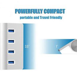nuevos portátiles delgados Rebajas TypeC USB Hub 4 puertos Adaptador de alta velocidad Ultra-delgado Type-c a Multiple 4 Port Hub Adapter para la nueva computadora portátil Macbook Tablet de carga