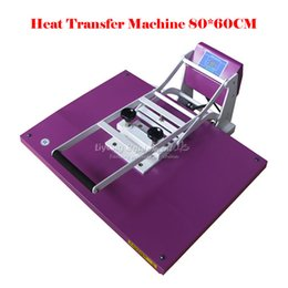 Wholesale T Shirt Transfers Machines - largr area 60*80CM heat transfer heat transfer machine large-format sublimation high-pressure pressing machine printing T-shirt pillow