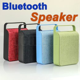 Wholesale Option Audio - HS-345 Wireless Mini Bluetooth Speaker Sound System 3D Stereo Music Surround Cloth wireless speakers TF card USB player 5Colors option