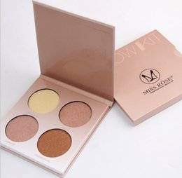 Wholesale Miss Rose Palette - Miss Rose Brown White Shimmer Face Glow Brighten Concealer Palette Base Minerals Makeup Bronzers Highlighters Contour Powder