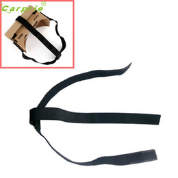 Картон google онлайн-Wholesale- Superior Quality DIY Head Mount Strap For Google Cardboard VR Virtual Reality 3D Glasses Feb21