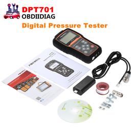 Wholesale Mitsubishi Diesels - FOXWELL DPT701 Digital Common Rail High Pressure Tester DPT 701 For Oil Pressure Petrol Compression Diesel Compression