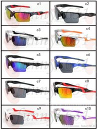 Wholesale Explosion Proof Sunglasses - MEN sports UV400 sun glasses Explosion-proof cycling glasses women Outdoor Wind eye protector sunglasses cycling glasses A++ free shipping