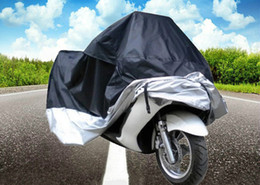 Wholesale Protection Camping Car - MultiFunction Motorcycle Cover Polyester Taffeta Waterproof Rain Dust UV Protection Dustproof Covering Cloth with Storage Bag +B