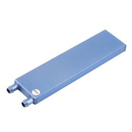 Wholesale Hot Cool Water - Wholesale- Hot Newest 41 x 162 x 12mm Water Cooling Heatsink Block Waterblock Liquid Cooler For CPU GPU