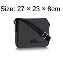 Wholesale Cross Body Cell Phone Bags - DISTRICT PM High-end quality new arrival famous Brand Classic designer fashion Men messenger bags cross body bag school bookbag shoulder bag