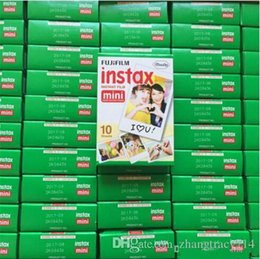 Wholesale Mini 25 Film - Instax mini film camera photographic papers Photo camera Film White Sheet Camera Christmas Mini 7 8 7s 25 100 Sheets Polaroid Christmas gift