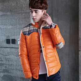 Wholesale Fine Winter Jackets - Wholesale- TG6032 Cheap wholesale 2017 new Men in winter cotton-padded jacket collar cultivate one's morality and fine hair coat